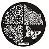 LHWY 2016 Motif image Nail Art Stamp Plaques Stamping femmes Manucure Modèle 004