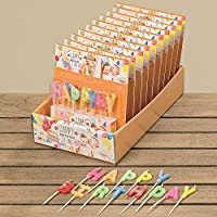 BOLTZE Kerze Happy Birthday Cake Candle Wax Colour Mix 8057400