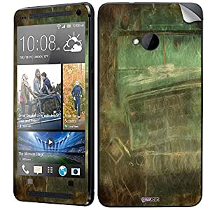 GsmKart HM7 Mobile Skin for HTC One M7 (Green, One M7-842)