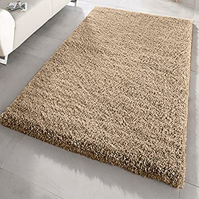 Soft Touch Shaggy Thick Luxurious Rugs Available In 12 Vibrant Colours and 4 Sizes