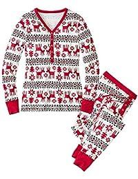 Juleya Familia Navidad Que Acondiciona La Madre Del Padre Juega La Ropa Pijamas Romper Recién Nacido