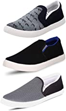 SCATCHITE Pack of 3 Footwear Loafers & Moccasins & Casual Shoes