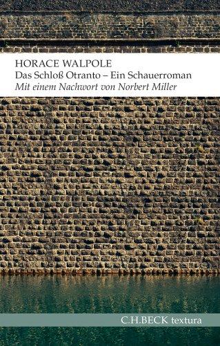 Buchseite und Rezensionen zu 'Das Schloss Otranto: Schauerroman' von Horace Walpole