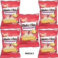 Metcalfe's Palomitas Dulces de Cine 20g Pack de 5