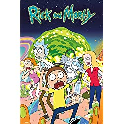 GB Eye LTD, Rick and Morty, Group, Maxi Poster, 61,5 x 91,5 cm