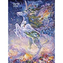 Josephine Wall: Soul of a Unicorn – Seele eines Einhorns 2018: Original Flame Tree Publishing-Pocket Diary [Taschenkalender]
