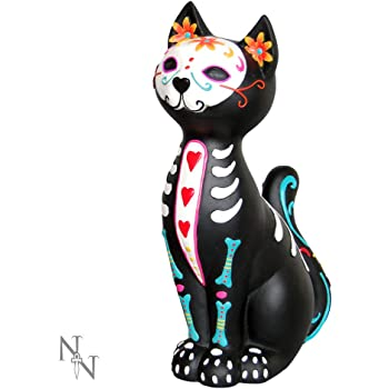 Nemesis Now Sugar Kitty Figurine Day of the Dead Cat