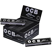 OCB Rolling Papers Full Box, King, White- Pack of 50 Booklets