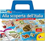 Alla scoperta dell'Italia. Tante attività per conoscere il tuo paese! Con poster e adesivi
