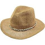 Barts Gamble Hat Cappello Panama, Donna, Beige (Paglia), Taglia unica