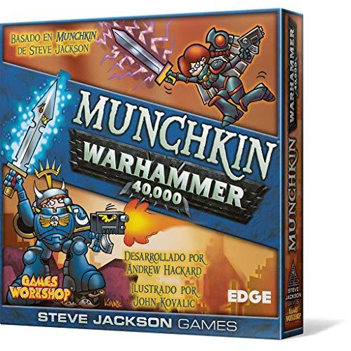 Edge Entertainment- Munchkin Warhammer 40.000-Español, Color (EESJMW01)