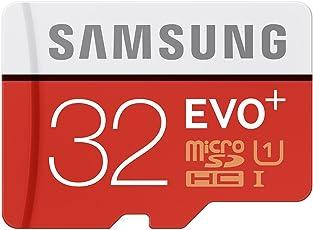 Samsung scheda di memoria Micro-SDXC 32GB EVO Plus UHS-1, Adattatore SD incluso
