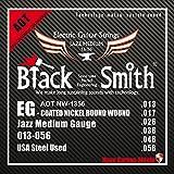 Black Smith 13-56 Coated Jeu de cordes pour Guitare électrique