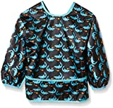 Lässig LTEXBLS027 - Long Sleeve Waterproof Lätzchen / Bib Shark, ocean thumbnail
