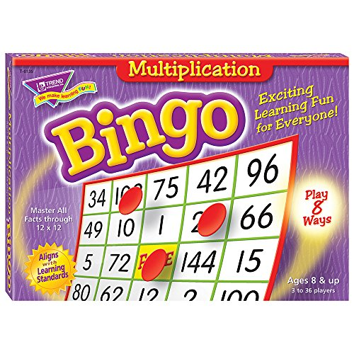 Trend Bingo Game, MULTIPLICATION