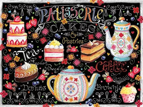 Ceaco Let's Chalk - Tea and Cakes Puzzle | Outlet