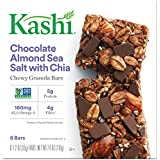 Kashi Chewy Sea Salt Bar, Chocolate Almond, 7.4 Ounce by Kellogg Company - Morning Foods