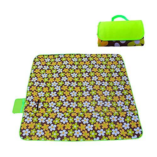 XFentech Wasserdichte Picknickdecke - Leicht Camping Tragbare Matte Faltbar Pad Baby Kriechende Matte Outdoordecke, Stil 06, S(180 * 145cm)