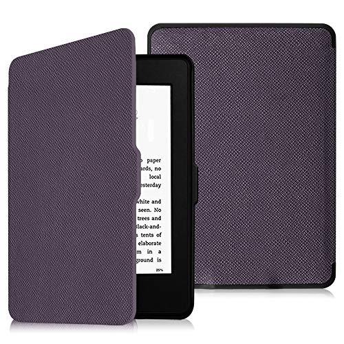 Fintie Hülle für Kindle Paperwhite - Die dünnste und leichteste Schutzhülle mit Auto Sleep/Wake Funktion (Nicht geeignet für das Modell der 10. Generation 2018), Lila