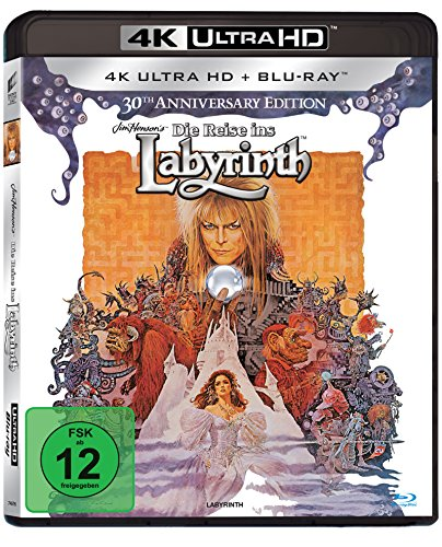 Die Reise ins Labyrinth - Ultra HD Blu-ray [4k + Blu-ray Disc]