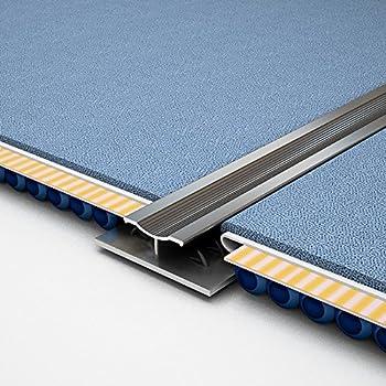 Royale 174 Double Edge Strip Aluminium Metal Doorbar Plate