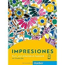 Impresiones A2: Kursbuch + Arbeitsbuch + 2 Audio-CDs
