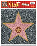Beistle 55328 Star Peel 'N Place Sheet, 12 by 15-Inch by Beistle