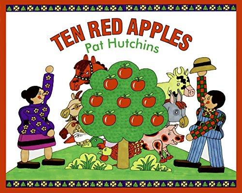 Ten Red Apples Red Pat 4