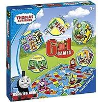 Ravensburger Thomas & seine Freunde, 6-in-1-Spiele, englische Ausgabe
