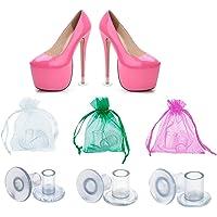 Amison Salvatacchi Proteggi Tacchi Donna 30 Paia Trasparenti, Proteggi Scarpe Tacco a Spillo Erba per Matrimoni…