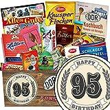95. Geburtstagsgeschenk | Schokolade Paket | Geschenkideen | Schokolade Set | mit Viba, Zetti und mehr