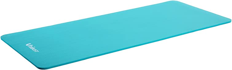 Unibest Fitnessmatte Gymnastikmatte Yogamatte Turnmatte NBR-Matte 190x100x1,5cm