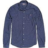 Superdry Herren T-Shirt Poolside Slim L/S Shirt, Größe:M, Farben:Broken Dot Navy