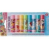 Lip Smacker - Collection Disney Princesses - Baume à Lèvres - En 8 Parfums Différents, Idéal pour les Fêtes - Lot de 8
