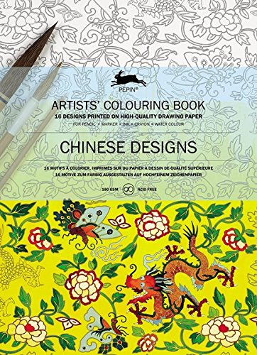 Chinese Designs: artists' olouring book (Artists Colouring Books) por Pepin Van Roojen
