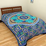 Narsinh 200 TC Cotton Single Bedsheet - ...