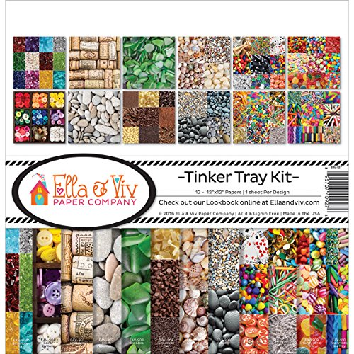 Ella & Viv von Zeiten eav-927 Ella & Viv Tinker Tray Scrapbook Collection Kit (Tray Kit)