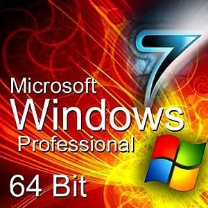 Microsoft - Windows 7 Professionnel 64bit - multilingue - Version intgrale - licence OEM - DVD [import allemand]