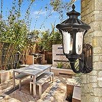 LLYY-Lampada per parete giardino all'aperto luci luci corridoio corridoio luci dimensioni: 220 * 260 * 500 mm-LYA