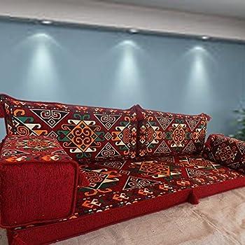 Tribal Floor Seating, Handmade Floor Sofa Set,arabic Majlis,arabic Jalsa, Floor