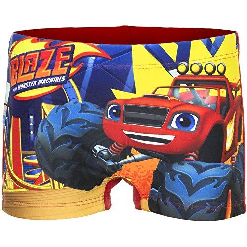 Blaze the monster machines boxer mare/piscina rosso 3 anni