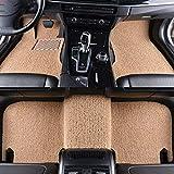 MDJFB Tappetino per Pavimento Auto Auto per Audi a3 sportback Audi a5 sportback a4 b8 Avant TT Accessori Auto Tappeto Impermeabile,Color 2