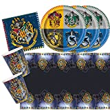 Unbekannt 33-teiliges Party-Set Harry Potter - Teller Becher Servietten Tischdecke für 8 Kinder