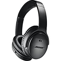 Bose Casque sans fil à réduction de bruit QuietComfort 35 II avec Amazon Alexa intégré - Noir