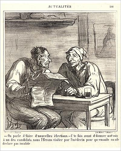 photographic-print-of-honore-daumier-french-1808-1879-on-parle-d-faire-d-nouvelles