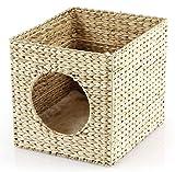 SwissPet Katzenhöhle   Passend für z.B. IKEA® Kallax + Expedit Regal   Kuschelhöhle für Katzen