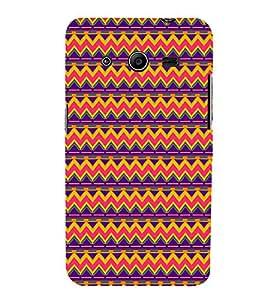 EPICCASE ethnic pattern Mobile Back Case Cover For Samsung Galaxy Core 2 (Designer Case)