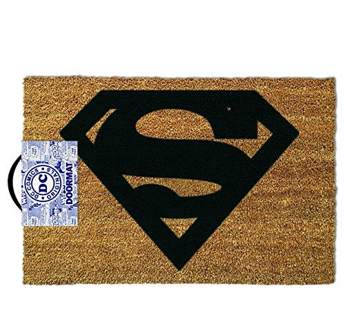 Unisex uomo donna donna donna Gents him Her-ideale per fan Marvel-Superman Door Floor Welcome Mat-perfetto per Secret Santa regalo Xmas Christmas Birthday valentines Anniversary Gift Idea regalo-One supplied
