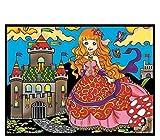 Colorvelvet Pz4–Princesa Puzzle, 96Piezas, 30x 40cm