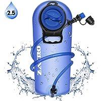 Zacro Sacca Idratazione,BPA Gratuito Antibatterico per Zaino Idratazione,2.5 Litri Sacchetto dell'Acqua capacità Water Bladder Portatile Sistema di Idratazione per Ciclismo, Escursionismo
